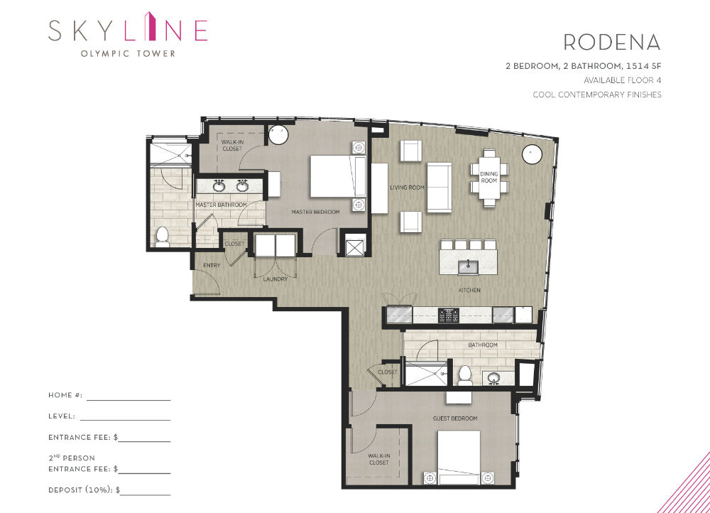 Olympic Tower Floor Plan - Rodena