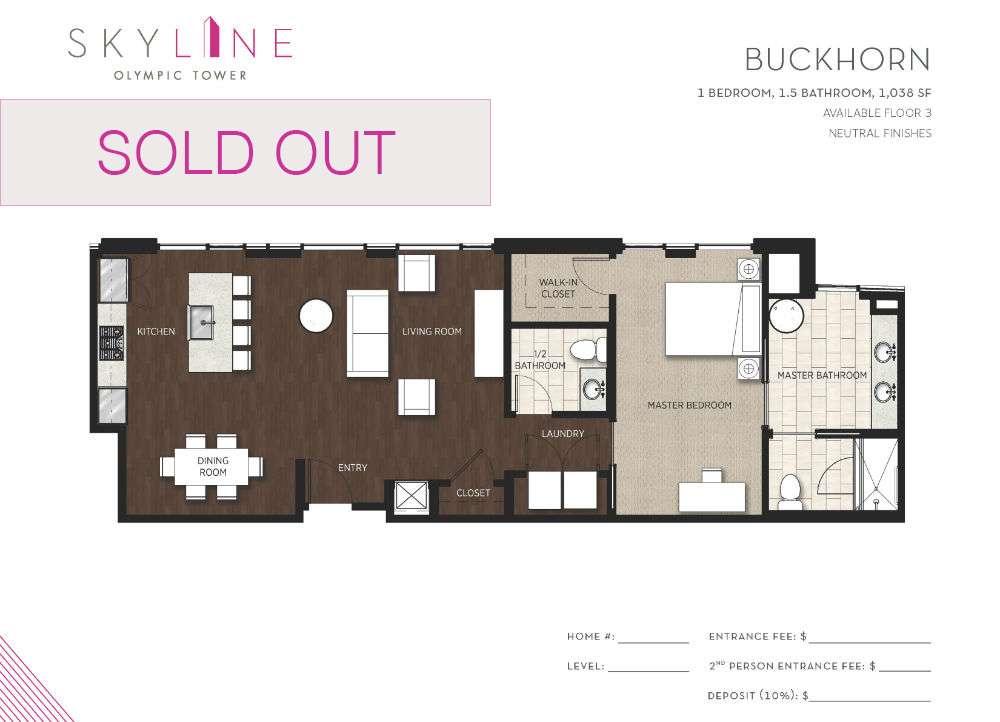 Olympic Tower Floor Plan - Buckhorn